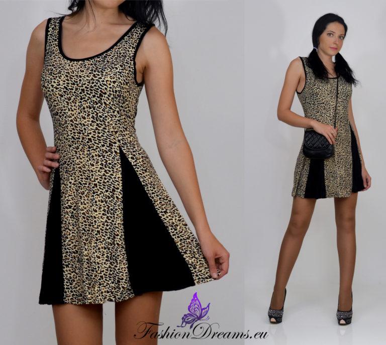 Leopardimustriline kleit-0
