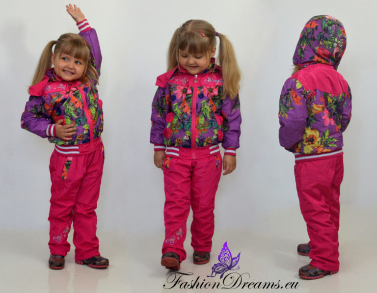Lillelised kile-dressid lastele -0