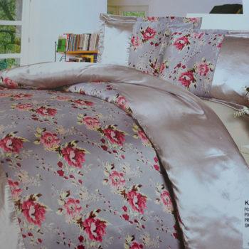 Satiinist voodipesu komplekt (160x200)-0