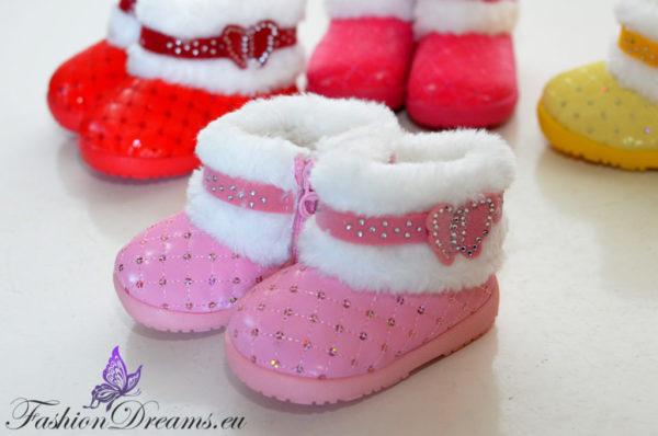 Imearmsad soojad saapad väikelastele-6305
