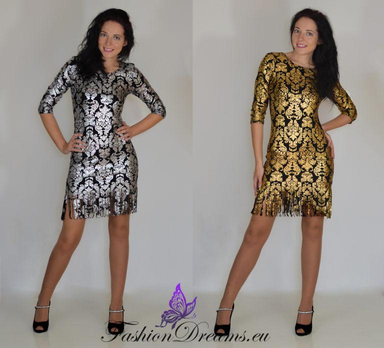 Kuldne või hõbedane kleit-0