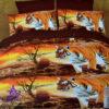 3D voodipesukomplekt kinkepakendis 6-osaline (200x220cm)-0