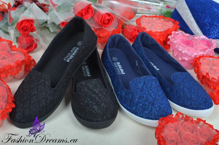 Jalatsid (mustad või sinised)-0