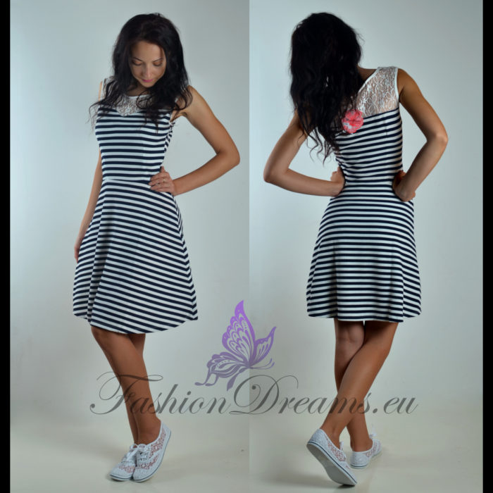 Triibuline kleit-0