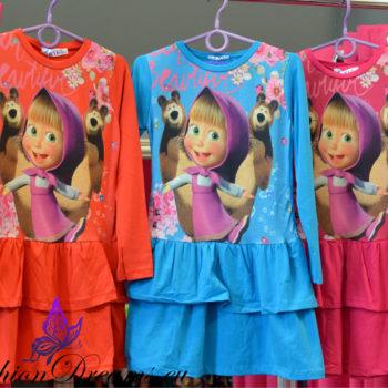 """""""Maša ja karu"""" kleit-7608"""