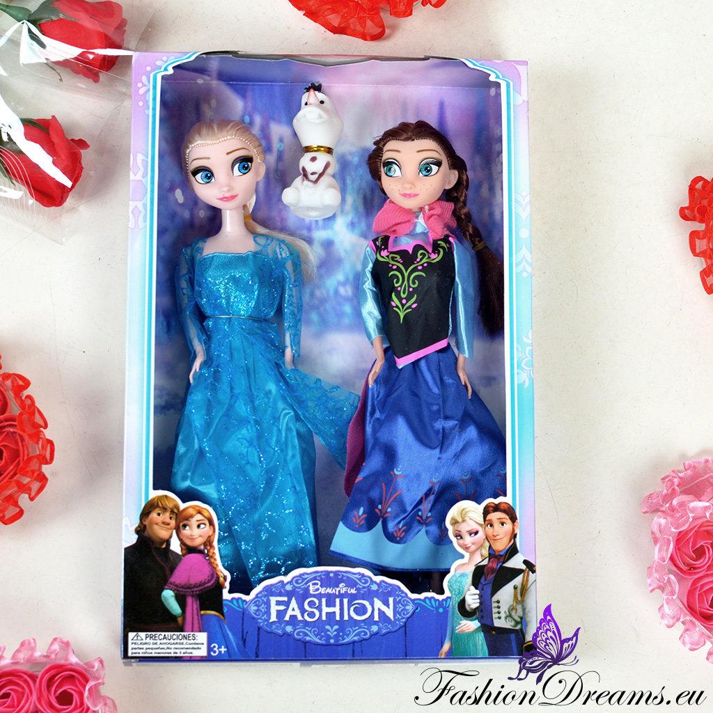 3b7676f1121 Frozen Elsa ja Anna nukud | Fashiondreams