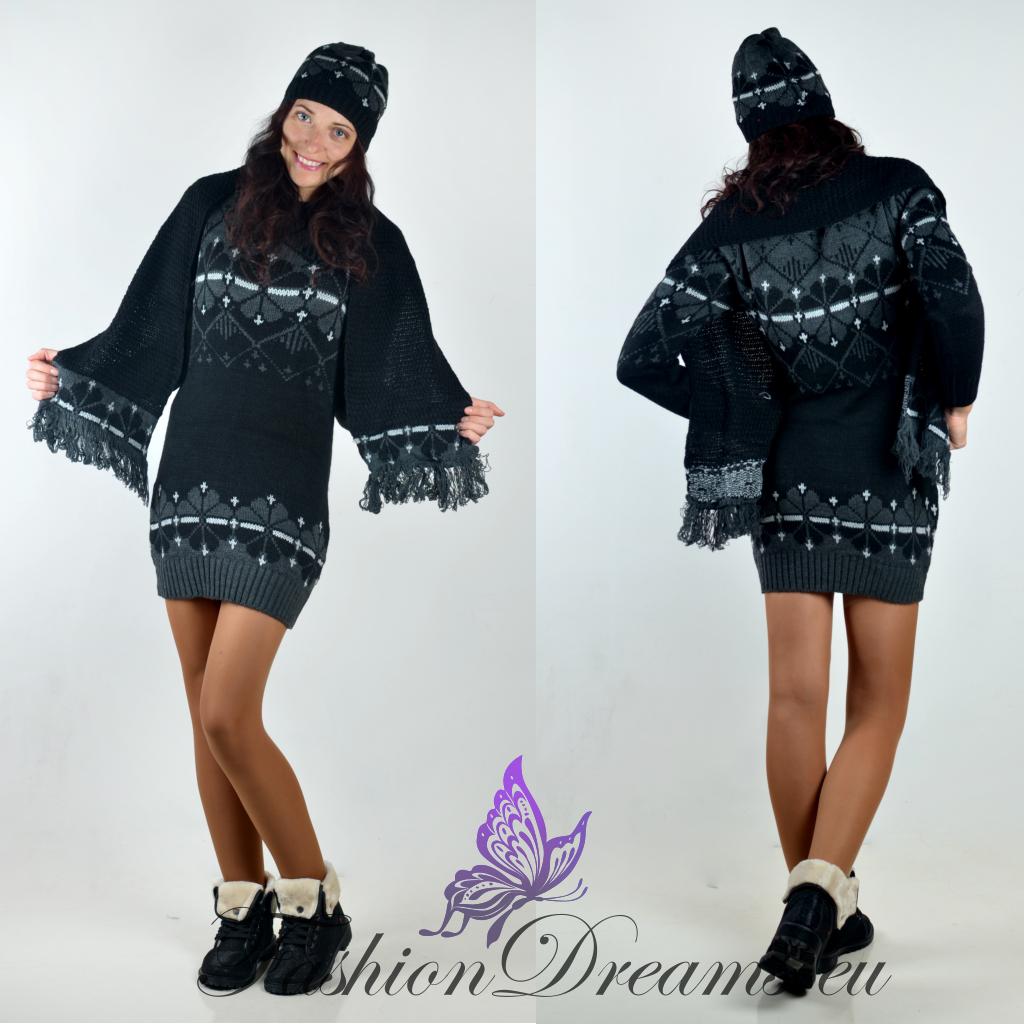 96abcdb997c Pikk kampsun + sall + müts | Fashiondreams