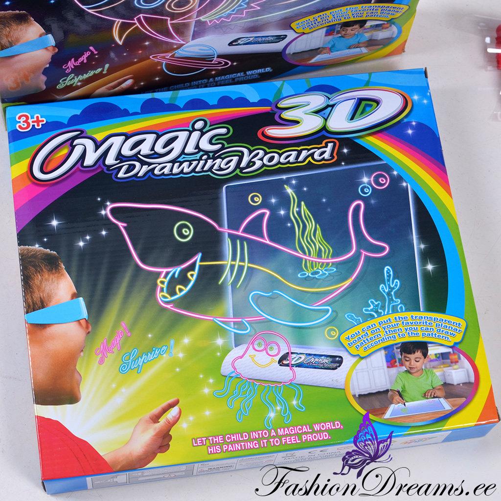 2741e40d8d1 Magic 3D joonistusalus | Fashiondreams