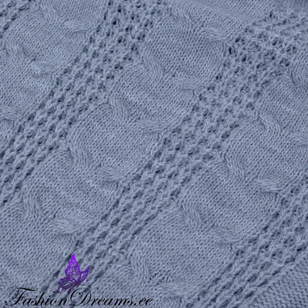 Kampsun-kleit palmikutega muster