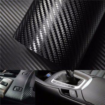 3D carbon kleebis-kile