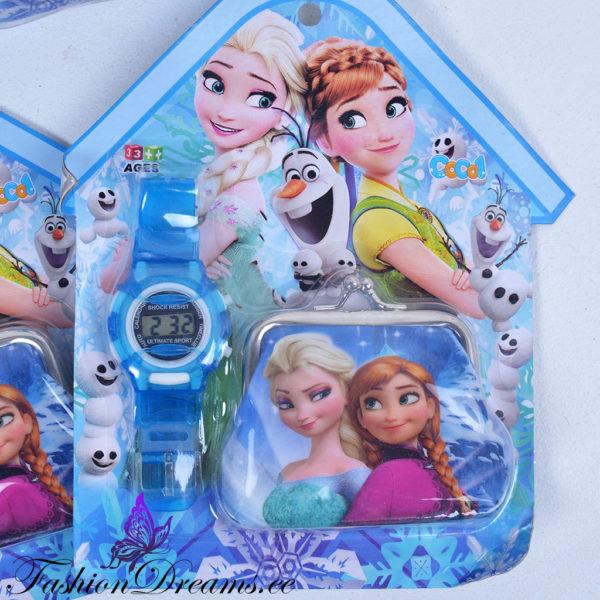 Frozen käekell ja kotike