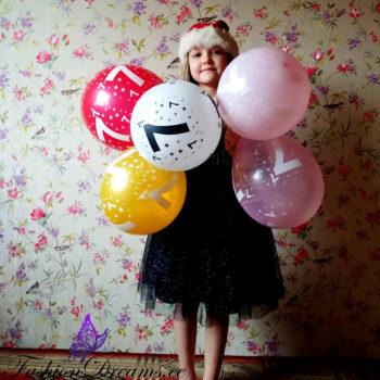 Numbritega õhupallid sünnipäevaks - NR 7