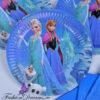 Frozen ühekordsete nõude komplekt