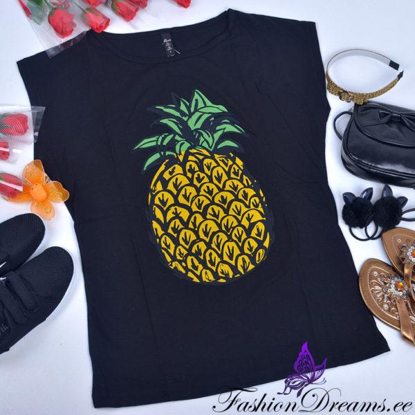 t-särk ananassiga